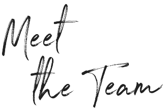 Meet the team handwriting