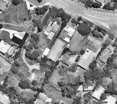 Aerial view of Petrie subdivision